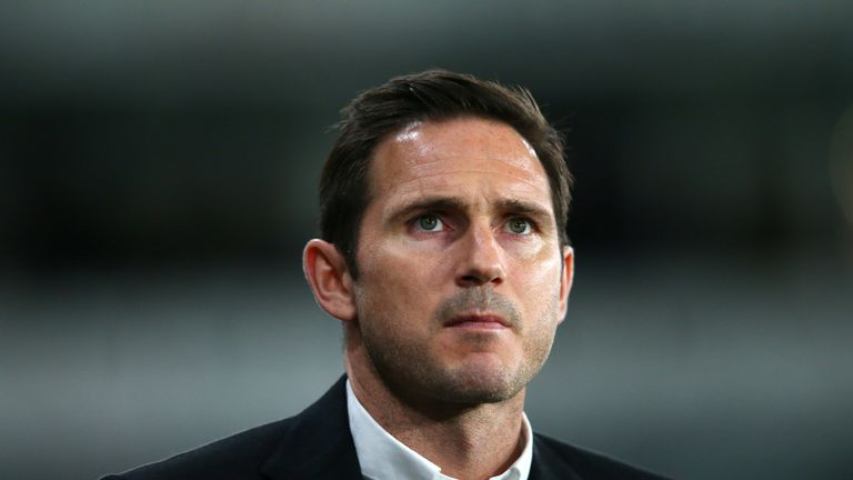 Lampard is looking for promotion to the Premier League in his first season in charge at Derby