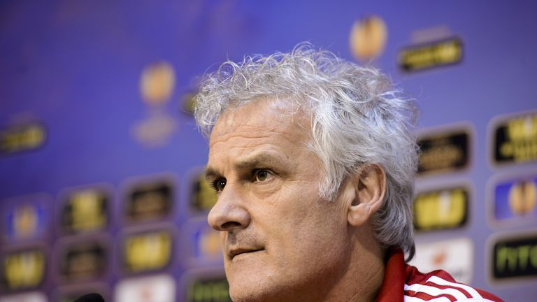 Fred Rutten has left Anderlecht after only 13 games in charge