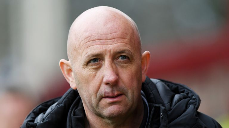 Rangers assistant boss McAllister says Rangers need competition up front