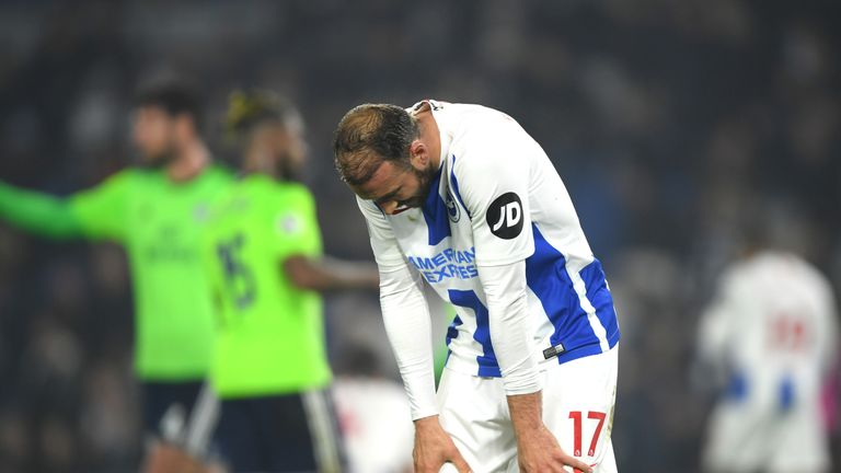 Glenn Murray is without a home league goal in 11 outings at the Amex