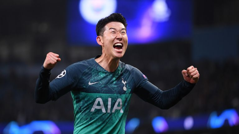 Heung-Min Son scored two goals to give Spurs the platform to succeed