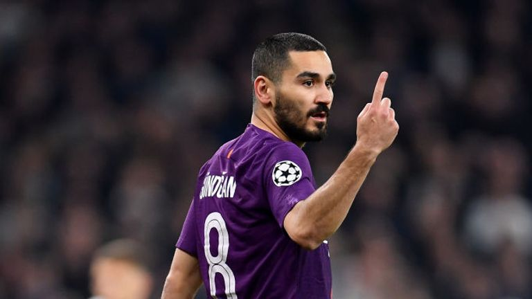 Ilkay Gundogan says Manchester City made a lot of simple mistakes against Spurs