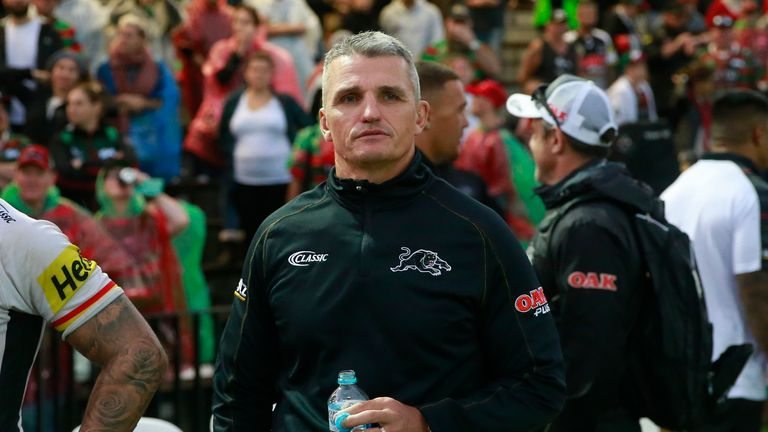 Panthers head coach Ivan Cleary is now under big pressure