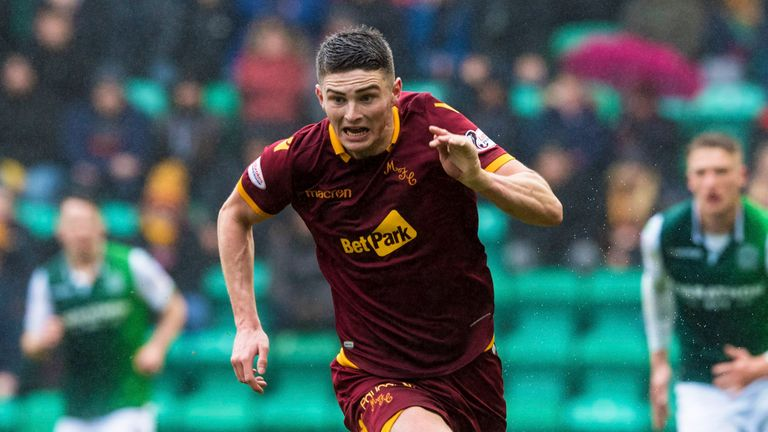 Jake Hastie has been nominated for PFA Scotland Young Player of the Year