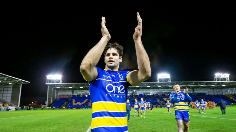 Warrington Wolves' Jake Mamo extends contract to 2021 | Rugby League News |