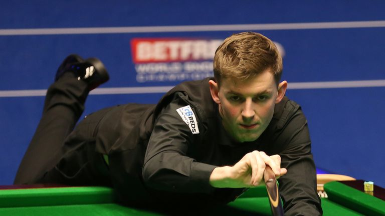 James Cahill saw his Crucible fairy-tale ended by Stephen Maguire