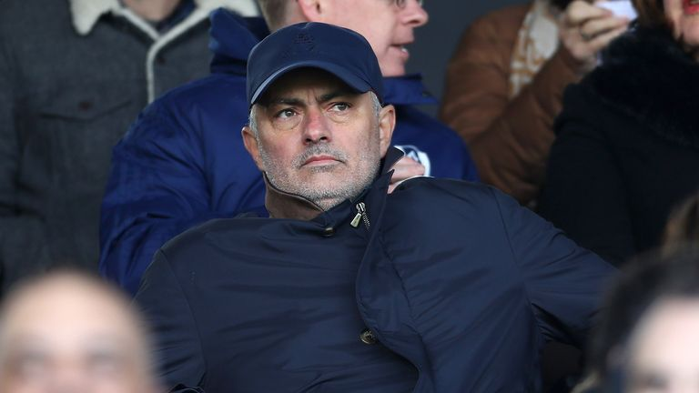 Jose Mourinho was sacked by Manchester United in December