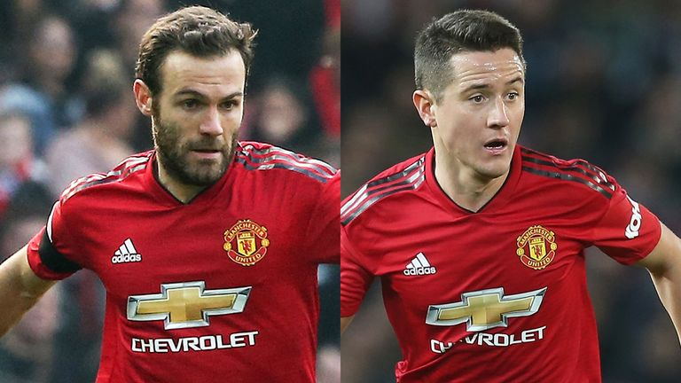 Juan Mata and Ander Herrera will be leaving Manchester United this summer