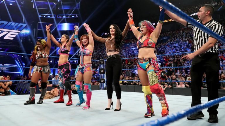Kairi Sane will partner with Asuka as Paige's contenders for the IIconics' tag-team championships