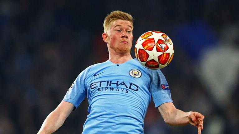 Despite injury problems, De Bruyne has so far claimed 10 assists this term