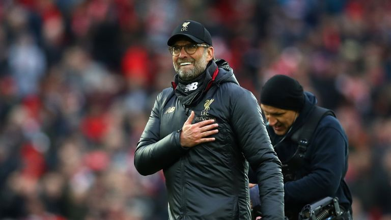 Jurgen Klopp admits Chelsea are in a 'good moment'