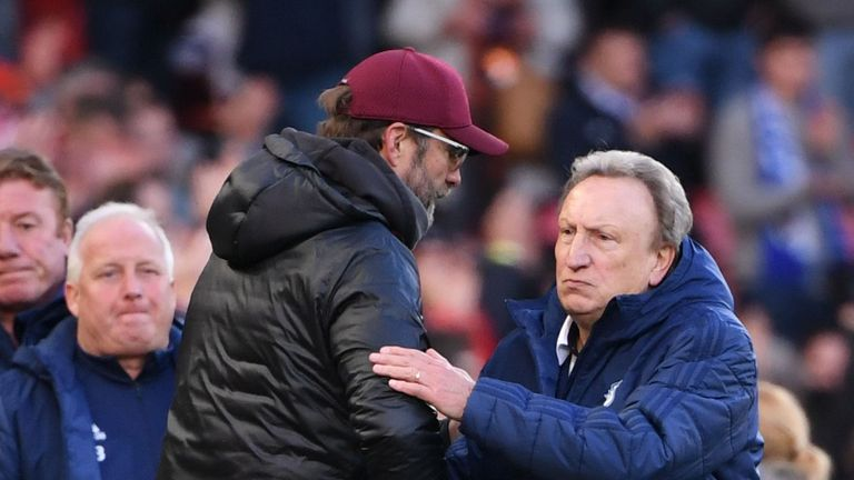 Can Warnock's side trip up Jurgen Klopp's Liverpool?