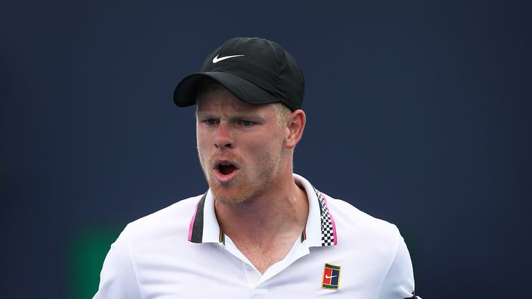 Kyle Edmund reached the final of the Grand Prix Hassan II in Marrakech last year