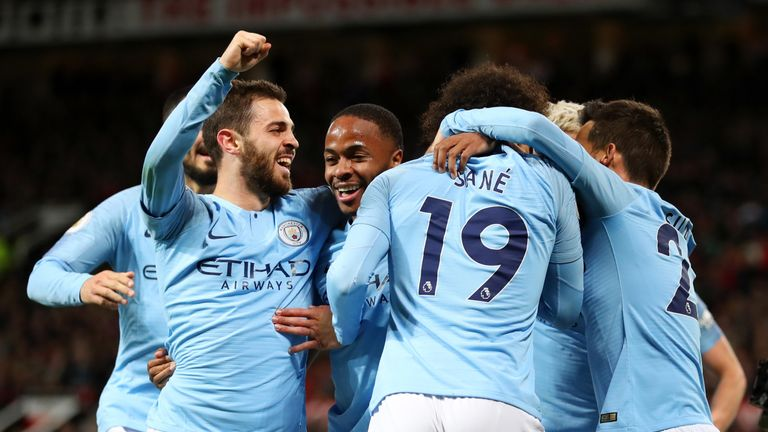 Manchester City can win the Premier League on Monday night