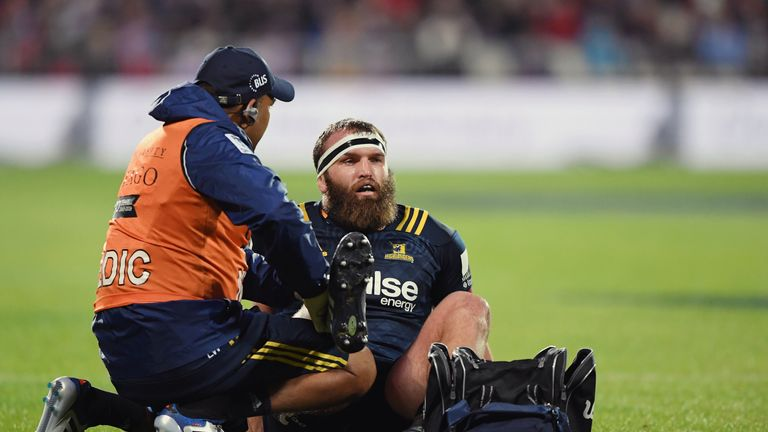 Every turnover the Highlanders won seemed to involve Liam Coltman