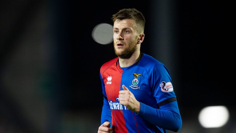 Liam Polworth has made204 appearances forInverness since 2011
