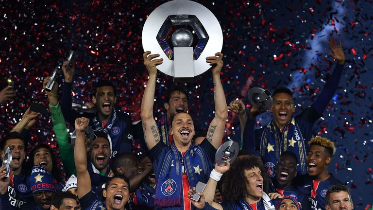 Zlatan Ibrahimovic won the league in the Netherlands, Italy, Spain and France, but was unable to win the Premier League with Manchester United