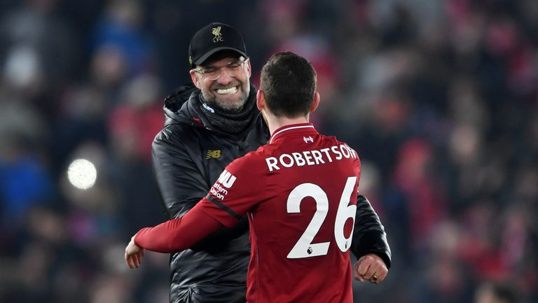Jurgen Klopp: 'Slipping book' can be closed after Andrew Robertson's fall went unpunished | Football News |