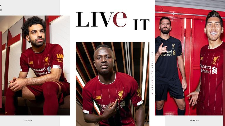 Liverpool unveil new 2019/20 kit in honour of Bob Paisley who would have turned 100 this year.