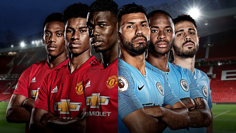 5dc9bfbfe Manchester United vs Manchester City is live on Sky Sports from 7pm on  Wednesday