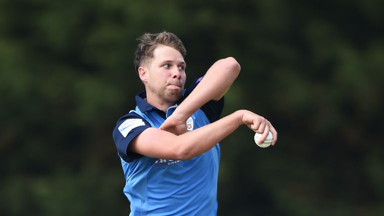 Derbyshire legspinner Matt Critchley was one spin option not selected on Sunday night