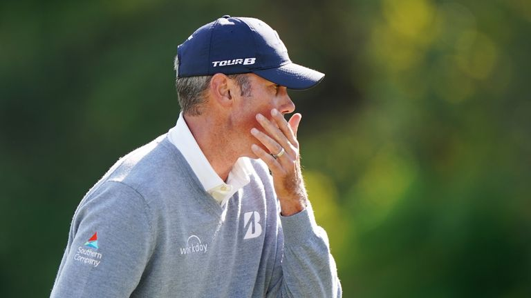 Kuchar was looking to win the event for a second time