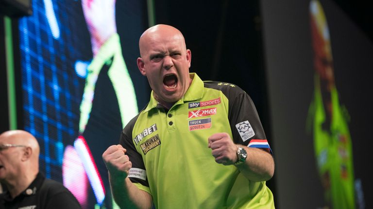 Van Gerwen claimed his 31st European Tour title on Sunday