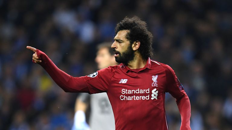 Salah has helped Liverpool reach the semi-finals of the Champions League and the top of the Premier League this season