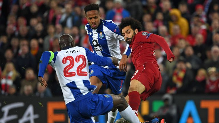 Mohamed Salah escaped punishment for this challenge on Danilo