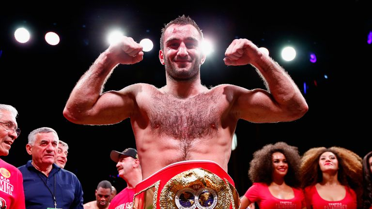Murat Gassiev has signed a deal with Matchroom Boxing