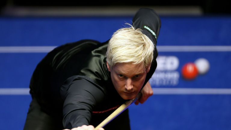 Neil Robertson is likely to face Shaun Murphy in a last-16 meeting of former champions