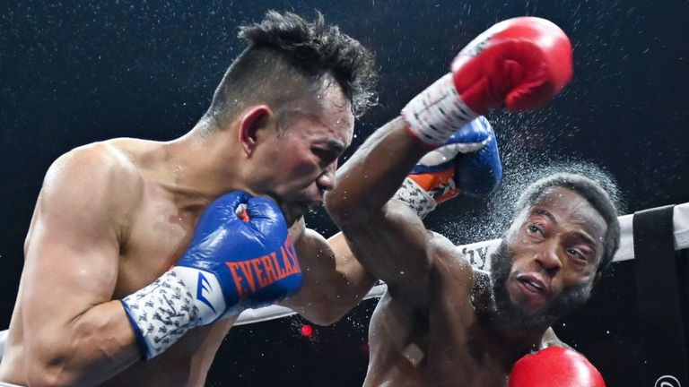 Nonito Donaire beat Stephon Young to reach the Super Series final