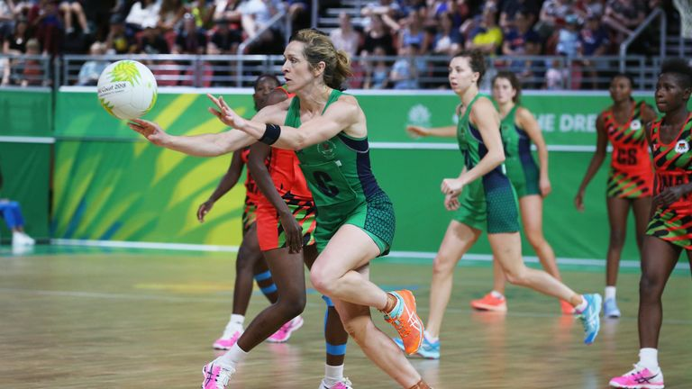 Northern Ireland in action at the Commonwealth Games in 2018