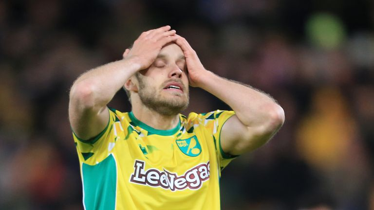 Norwich were held at home by Reading