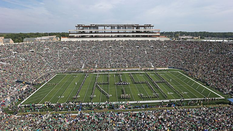 The University of Notre Dame will host the first game