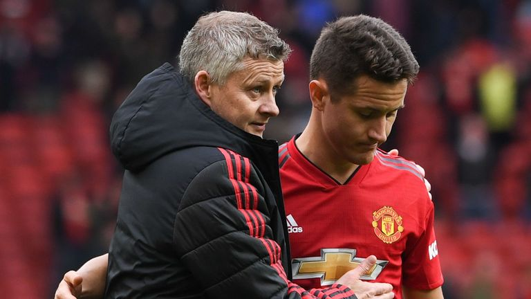 Ander Herrera is leaving Manchester United