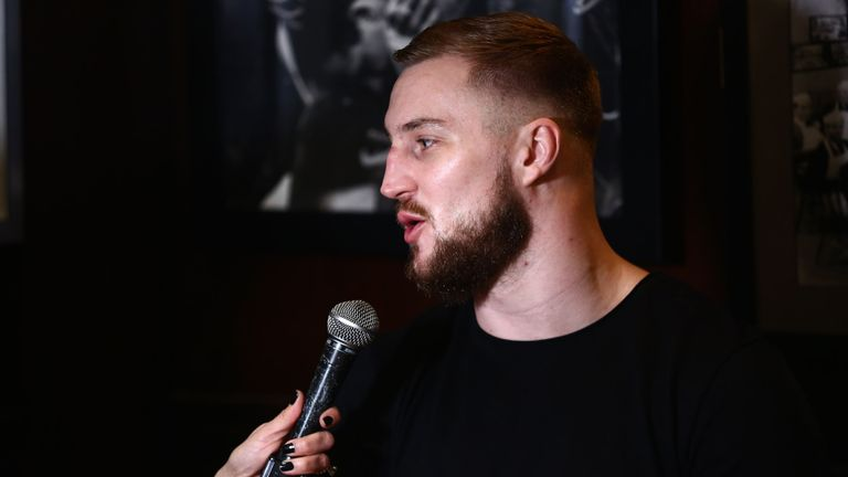 The Swede has based his career in New York with promoter Dmitriy Salita