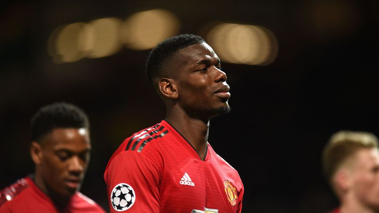 Paul Pogba failed to spark Manchester United into life