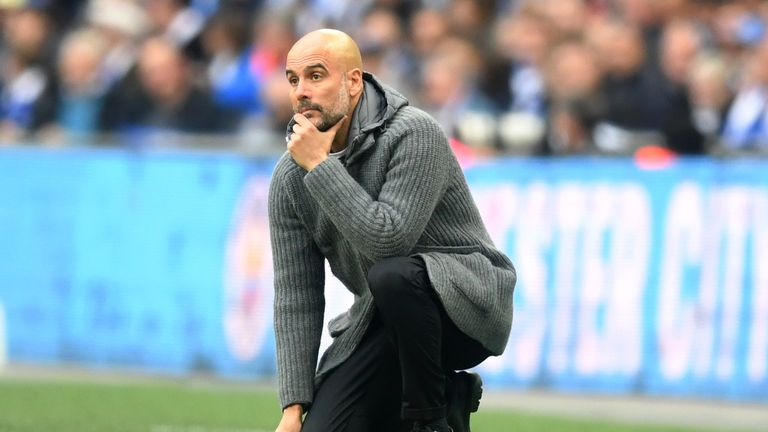 Pep Guardiola's Manchester City currently have eight matches scheduled for April