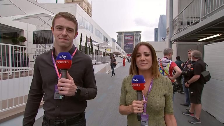 Natalie Pinkham and Paul Di Resta look ahead to the Azerbaijan GP from Baku