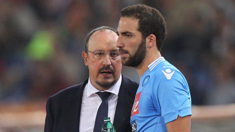Benitez brought Gonzalo Higuain to Napoli