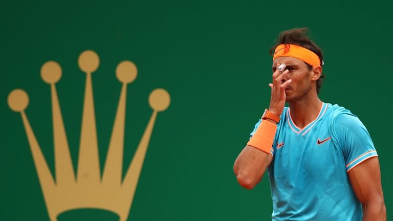 Nadal said he produced one of his  worst clay-court performances in 14 years