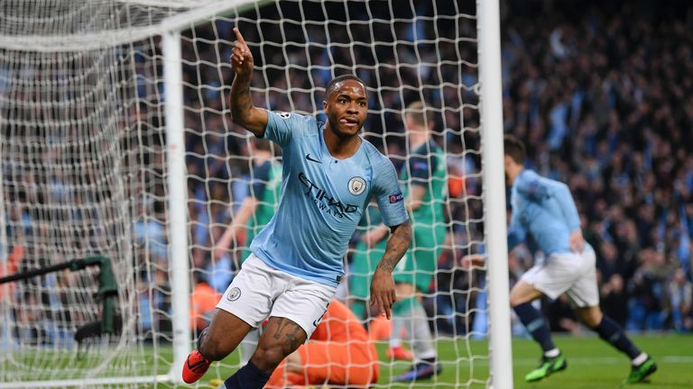 Raheem Sterling continued his excellent goalscoring form on Wednesday