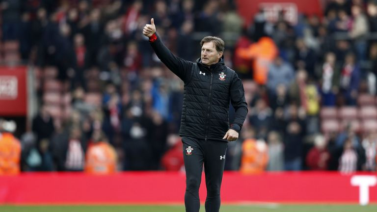 Hasenhuttl is looking to offload some players ahead of the new season