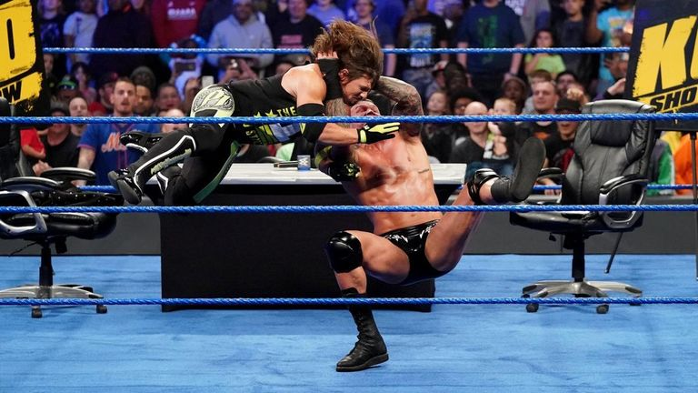 Randy Orton's has continued to deliver the RKO whenever he has seen fit