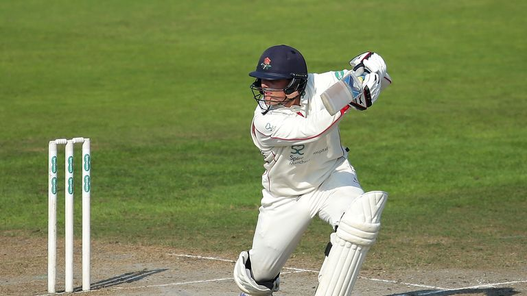Rob Jones scored his second County Championship century, both have come against Middlesex