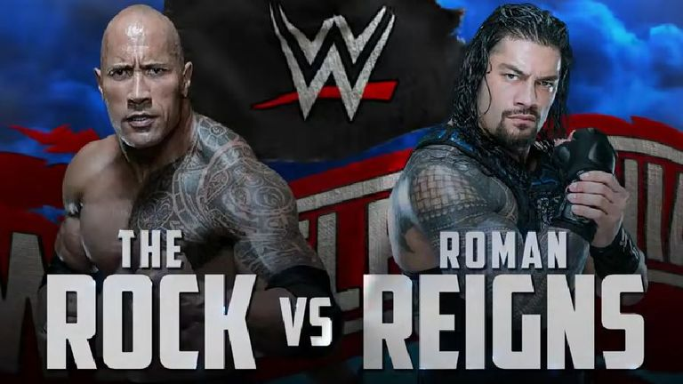 Could Roman Reigns face The Rock at next year's WrestleMania?