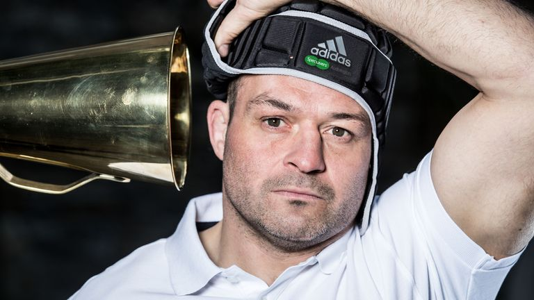 Rory Best was speaking at the launch of Specsavers' 'Don't Suffer in Silence' campaign