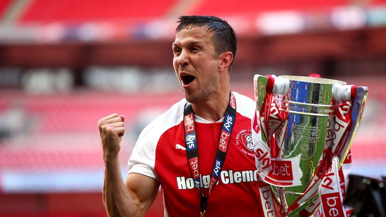 Rotherham United won last season's Sky Bet League One play-off final