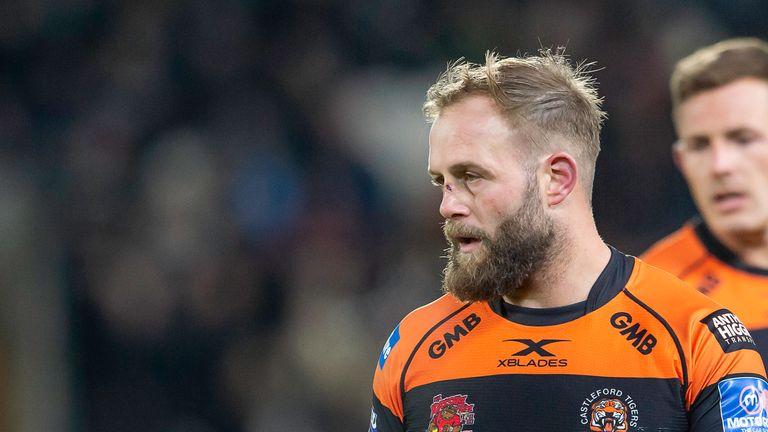 Castleford hooker Paul McShane begins his suspension against Wigan